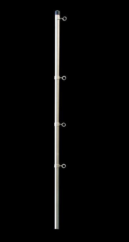 FSE-O, Edelstahl-Fahnenstange mit Ösenbefestigung - null