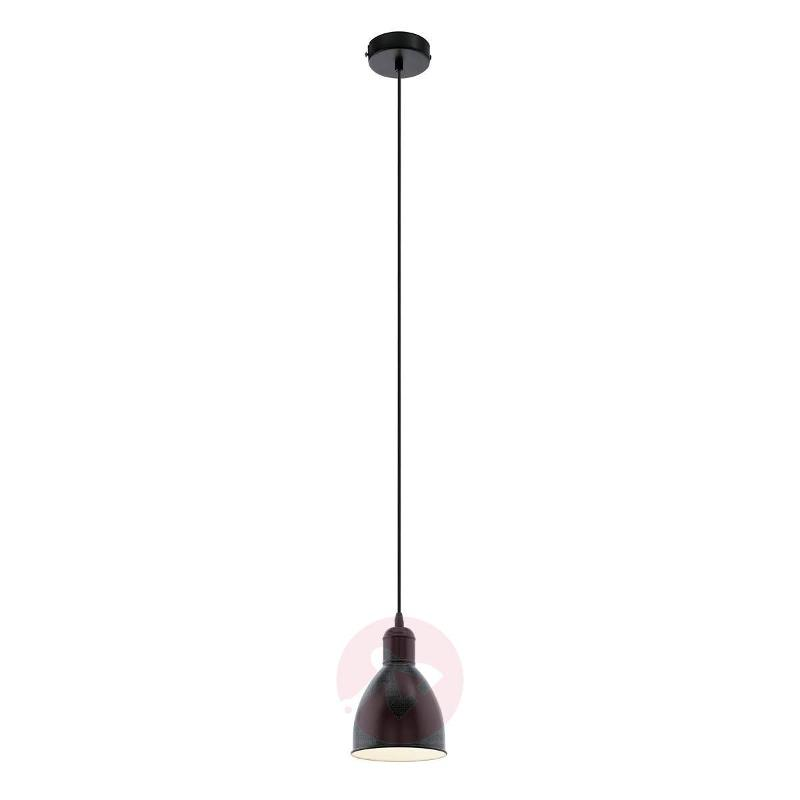 Priddy 1 Small Pendant Light In The Vintage Style Lighting