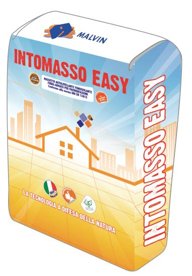 SELF-LEVELLING SOUNDPROOFING INTOMASSO EASY - Compliant with UNI EN 13813-2002