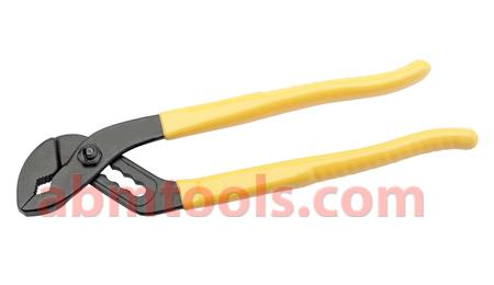 Water Pump Plier - Slip Joint Type - Pliers have serrated jaws set at 45° from the handles.