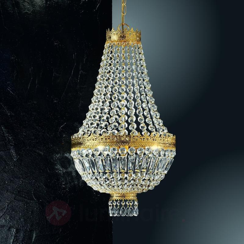 Suspension CUPOLA dorée 24 carats - Suspensions classiques, antiques