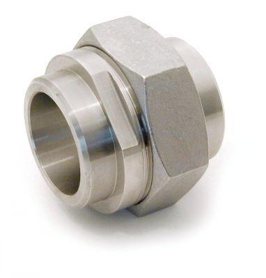 RACCORDS UNION À JOINT PLAT - LISSE / LISSE PTFE EN STANDARD - INOX 316 L (5121)