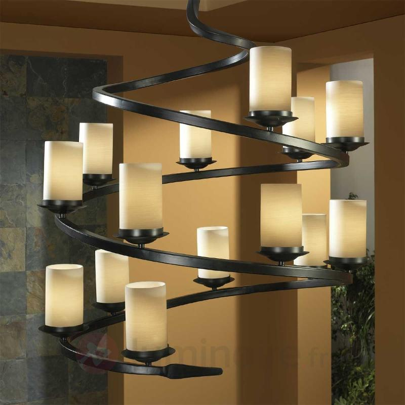 Lustre CRISOL à plusieurs lampes - Lustres rustiques