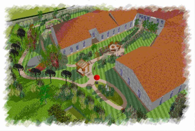 Jardin gériatrie Puy de Dôme - Service