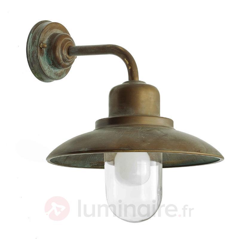 Applique d'extérieur Susa résistant à l'eau de mer - Appliques d'extérieur cuivre/laiton