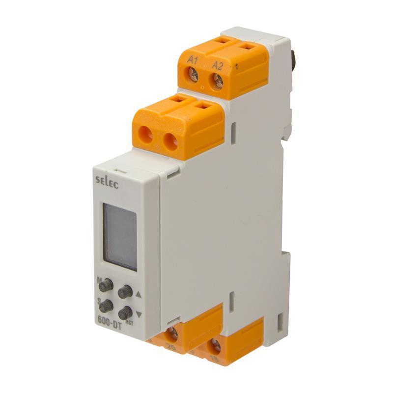 Relais temporisé multifonctions numérique Selec 600DT-CU - null