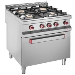GAMME MASTER 900 - GAS STOVES & ELECTRIC OVENS