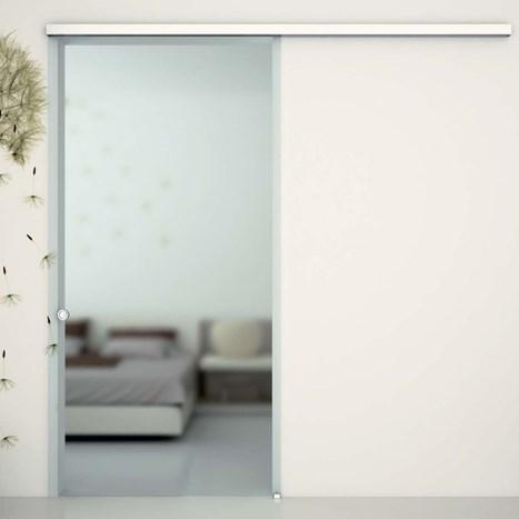 V-5400 - ceiling / wall, sliding door set with soft-close - Metalglas