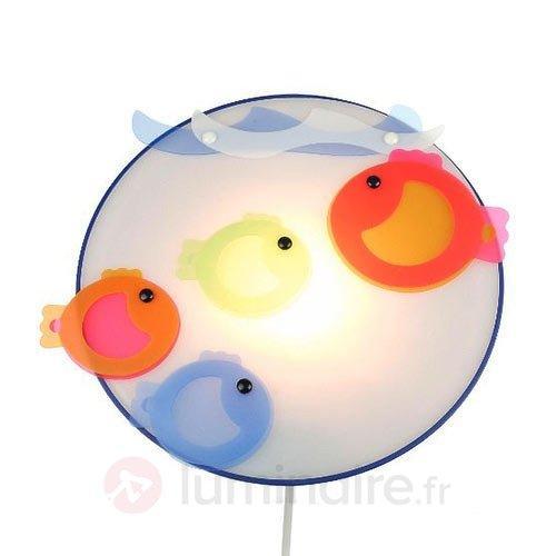 Applique pour chambre d'enfant Petits poissons - Chambre d'enfant