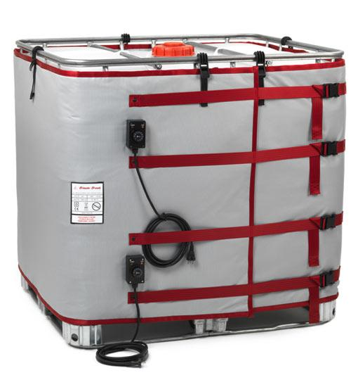 Container Heater - Insulated Heater Jacket IBC-B (90°C)