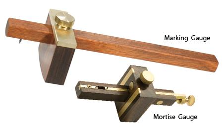 Marking Gauge - Mortise Gauge - It is used in joinery and sheet metal operations.
