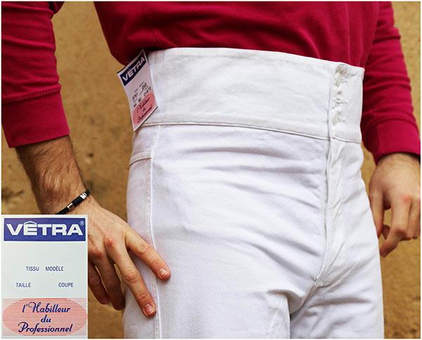 pantalon écarteur - pantalon de courseyre / course landaise