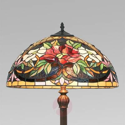 Colourful floor lamp ARIADNE in the Tiffany style - Floor Lamps