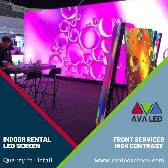 室内租赁系列LED显示屏 - P1.95 - P2.6 - P2.97 - P3.91 租赁箱 AVA LED 显示屏