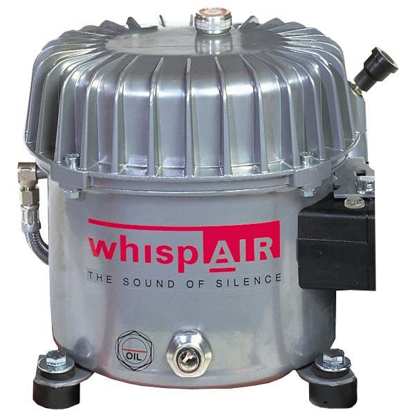 Whispair Kompressormotor CW50 110 Volt - Ölgeschmierte Flüsterkompressoren