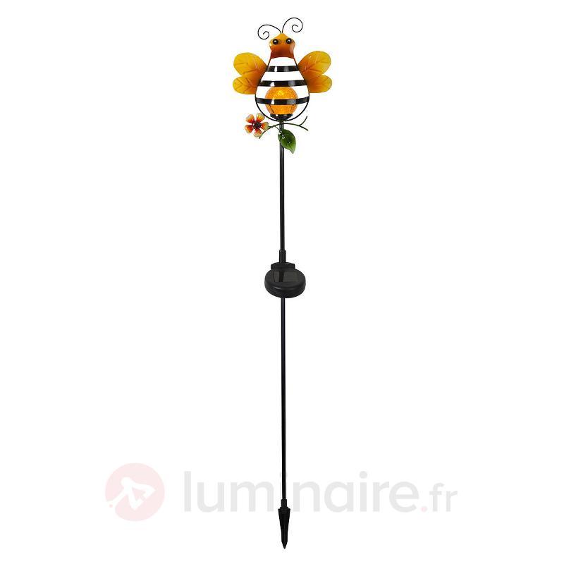 Une abeille décore la lampe solaire LED Sicily - Lampes décoratives d'extérieur