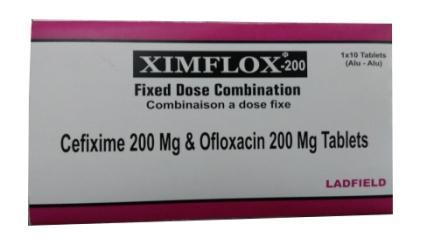 Cefixime and Ofloxacin Tablets - Cefixime and Ofloxacin Tablets