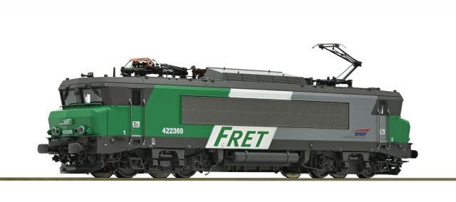 Modelisme Train - LOCOMOTIVE ELECTRIQUE 422369 FRET SNCF Digital Son