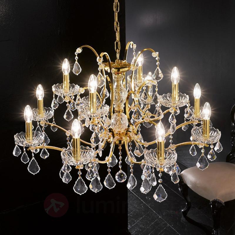 Lustre à 12 lampes Salisburgo - Lustres en cristal