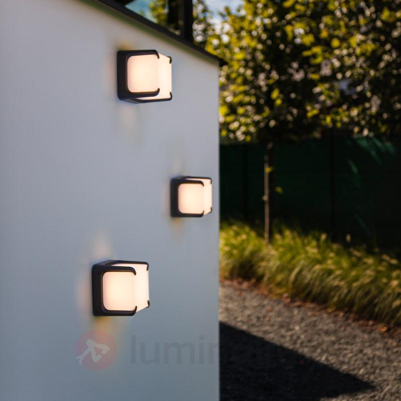 Applique LED d'extérieur de forme carrée Armor - Appliques d'extérieur LED