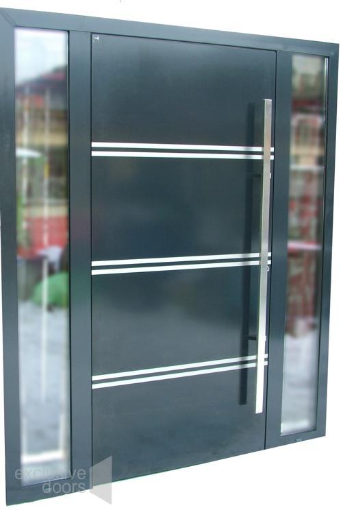 Drzwi wejściowe exclusive doors - EXD  - Drzwi aluminiowe Schuco ADS 75.SI