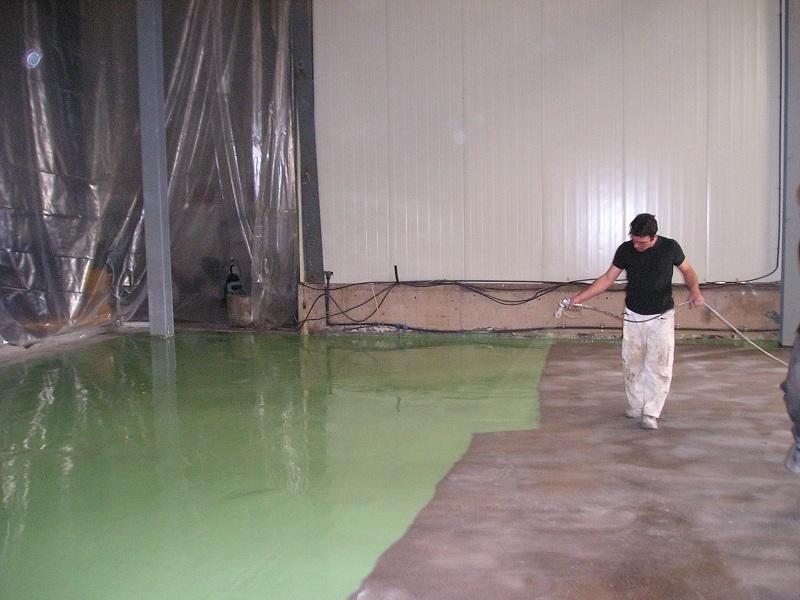 Floor Coatings - Epoxy floor paint - Ktisepox