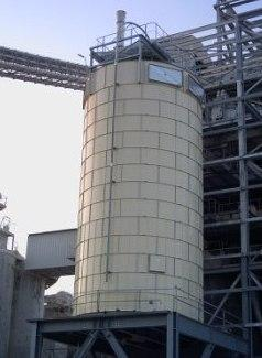 Storage silos for all bulk products - 500m³ silo, Ø 7m41 – Total height 15m - null