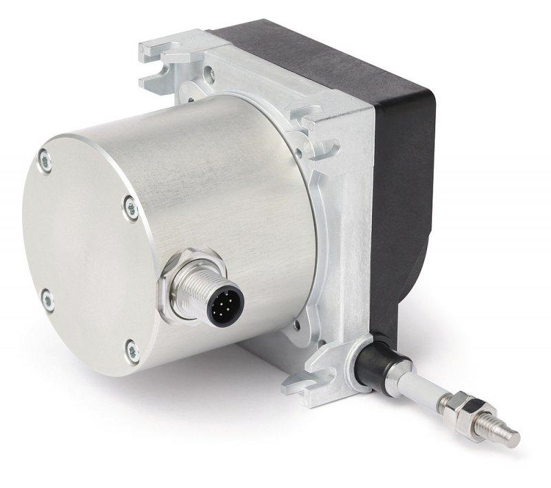 Wire-actuated encoder SG32 - Wire-actuated encoder SG32, robust design and redundant sensor system