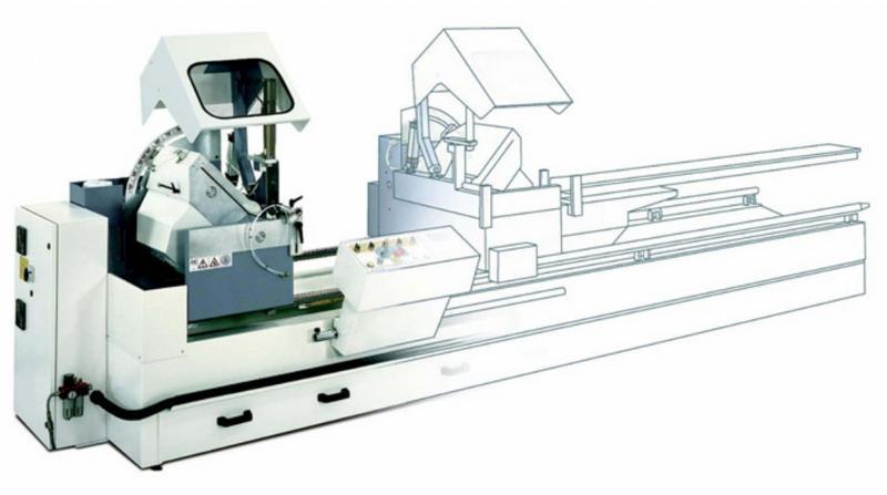 Double Head Mitre Saw Machines - SW453 Display