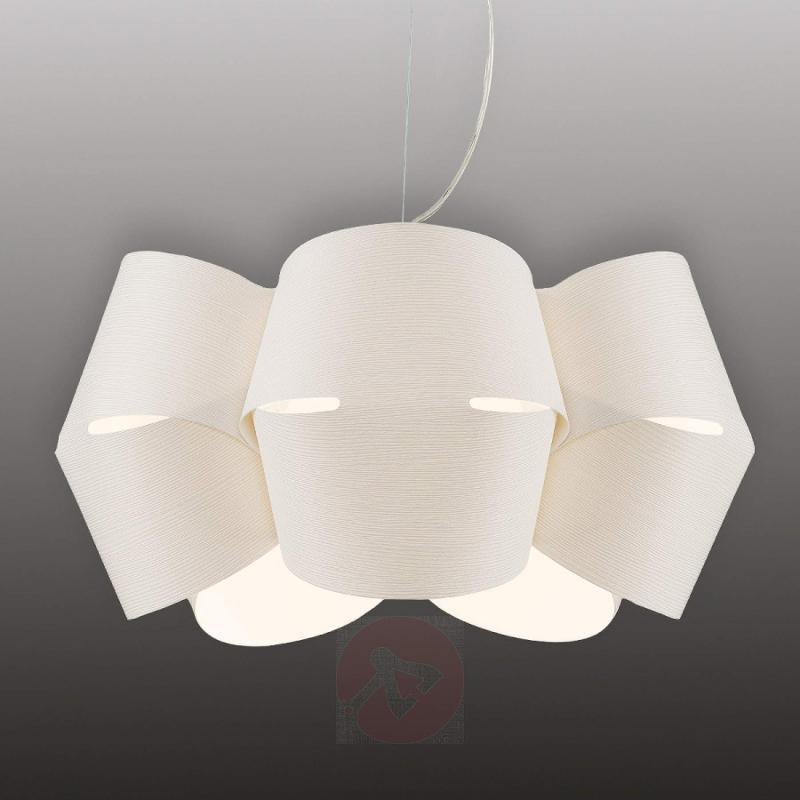 Extravagant hanging light Mini Alien, white - design-hotel-lighting