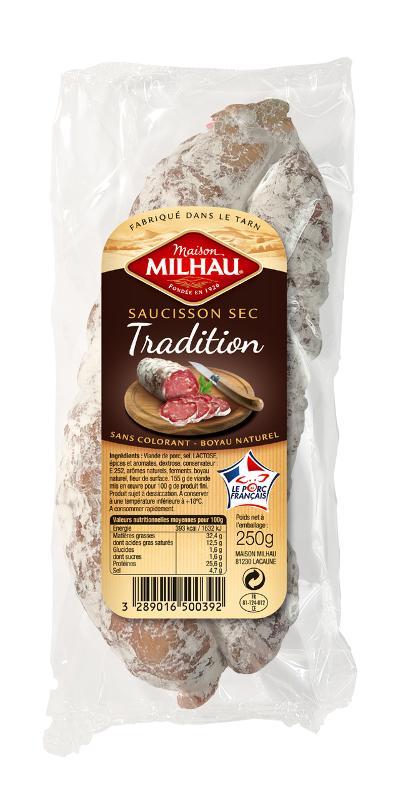 Saucisson Sec Tradition - Viande et volailles