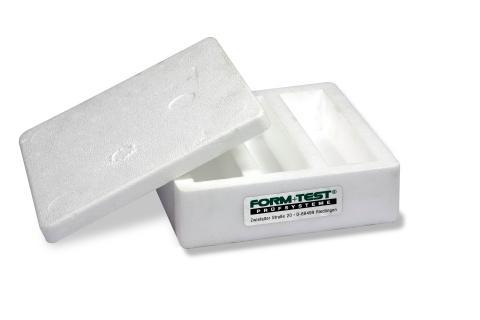 Styropor-Dreifachform mit Deckel - Artikel-ID: B27099
