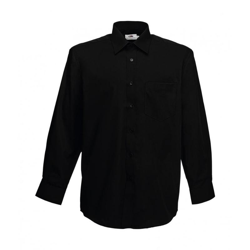 Chemise manches longues Poplin - Homme
