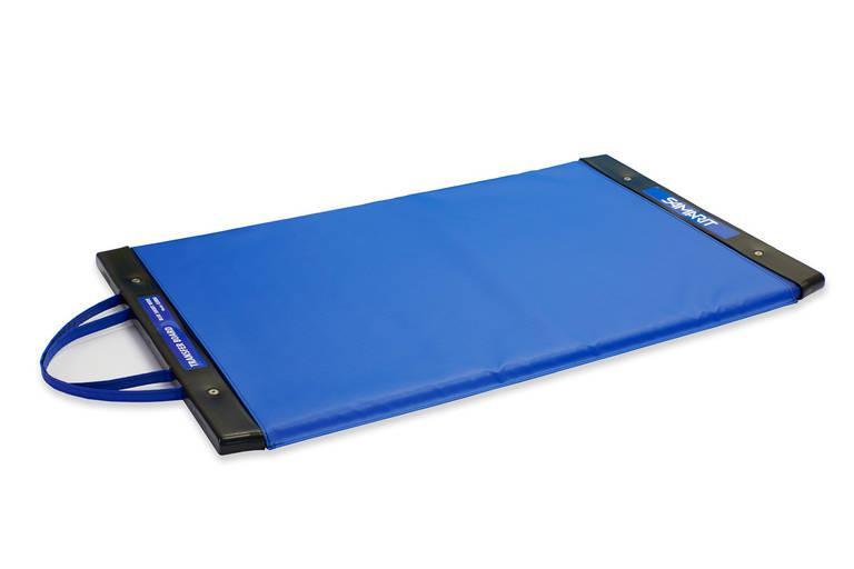 Blue Transfer Board - BLUE SHORT WIDE - Patient Transfer Board