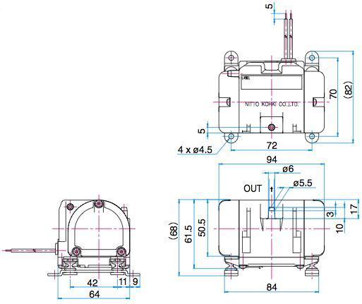 Pompes à diaphragme - VC 0100 (Blower)