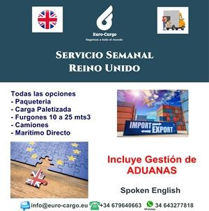Road transport to the UK - From Spain including Balearic and Canary Islands