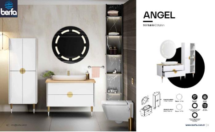 Banyo Mobilyası Angel  - Banyo Mobilyası