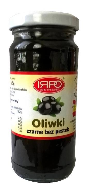 Oliwki czarne bez pestek