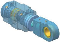 Vérins sur mesure petite & moyenne dimensions - DA 80 x 45, Stroke 40 mm