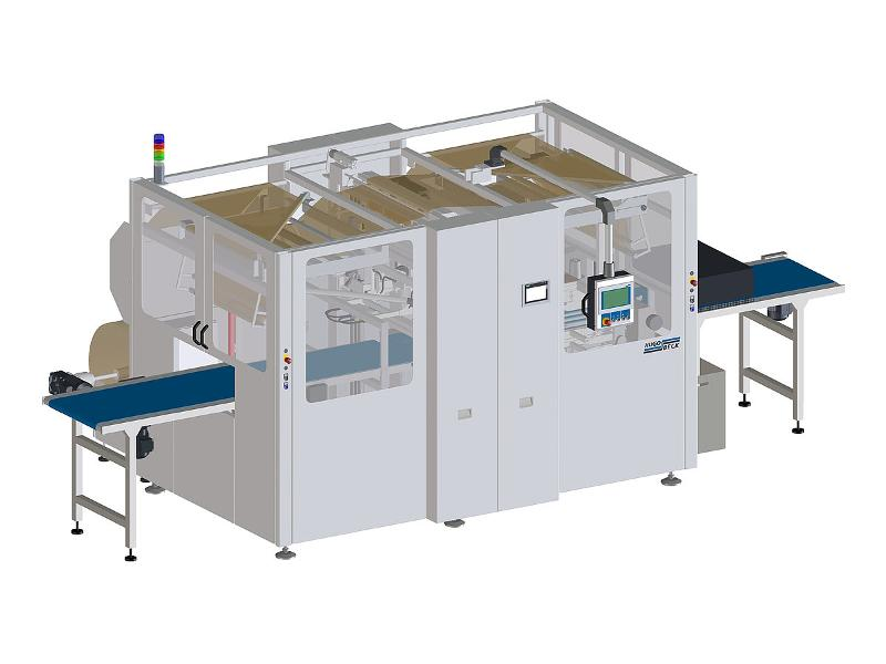 PB 800 E-Com paper packaging machine - Paper packaging for E-Commerce