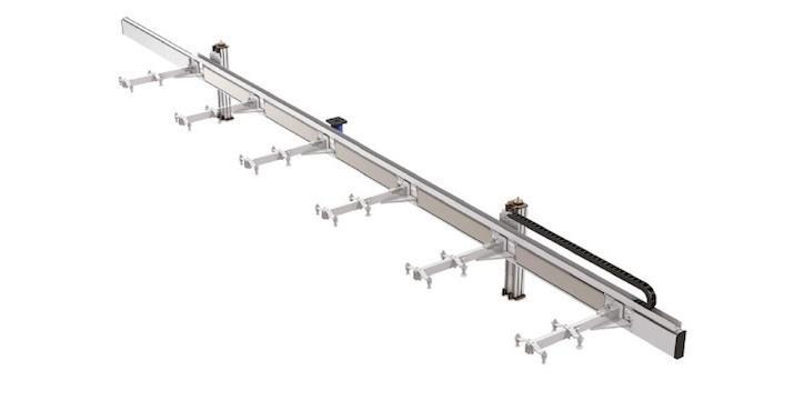 Transfer Press - Versatile transfer system for metal sheet handling, designed as the main element