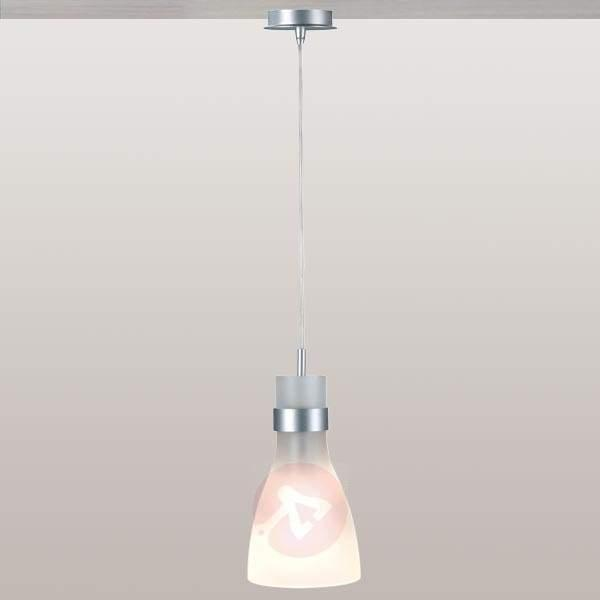 Biba Hanging Light with Glass Shade - Pendant Lighting