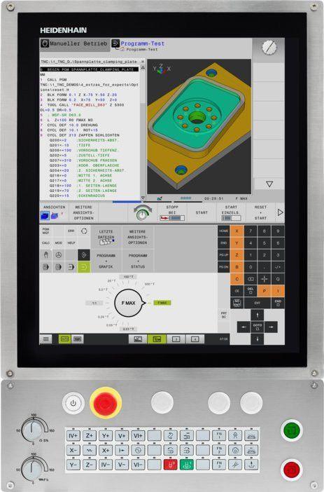 TNC 620数控系统 - TNC 620  系列 海德汉数控系统