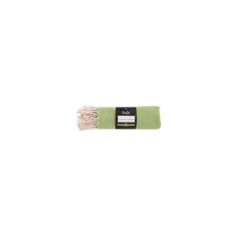 Linge De Hammam Vert Jasmin - Coton Certifié Bio - LINGES