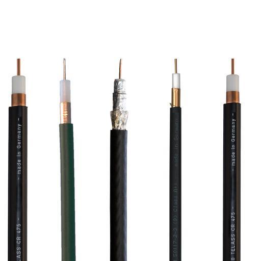 catv: cavi di distribuzione e cavi di collegamento -