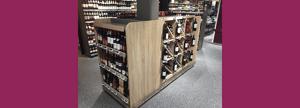 Mobilier présentoir cave à vin