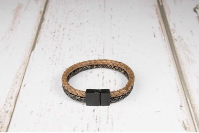 Leather Bracelet - Genuine leather bracelet