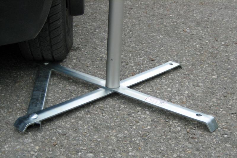 Mobiler Teleskop-Fahnenmast Eventflag - null