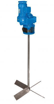 GRF – Geared agitator with parallel shaft geared drive - Geared agitators