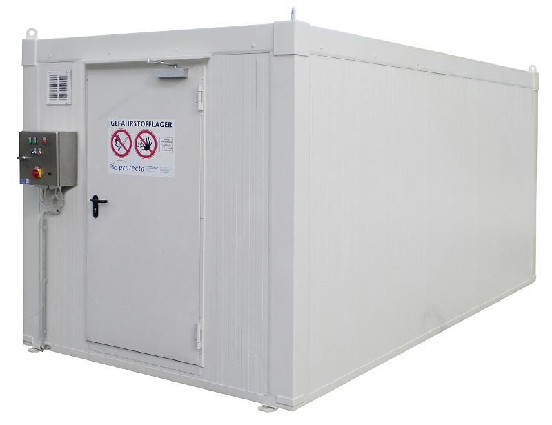 Mit DIBt-Zulassung: Brandschutzcontainer F90